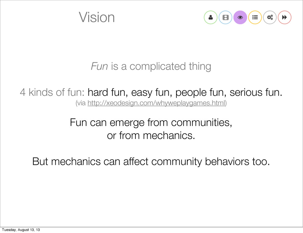 Vision Fun is a complicated thing 4 kinds of fu...