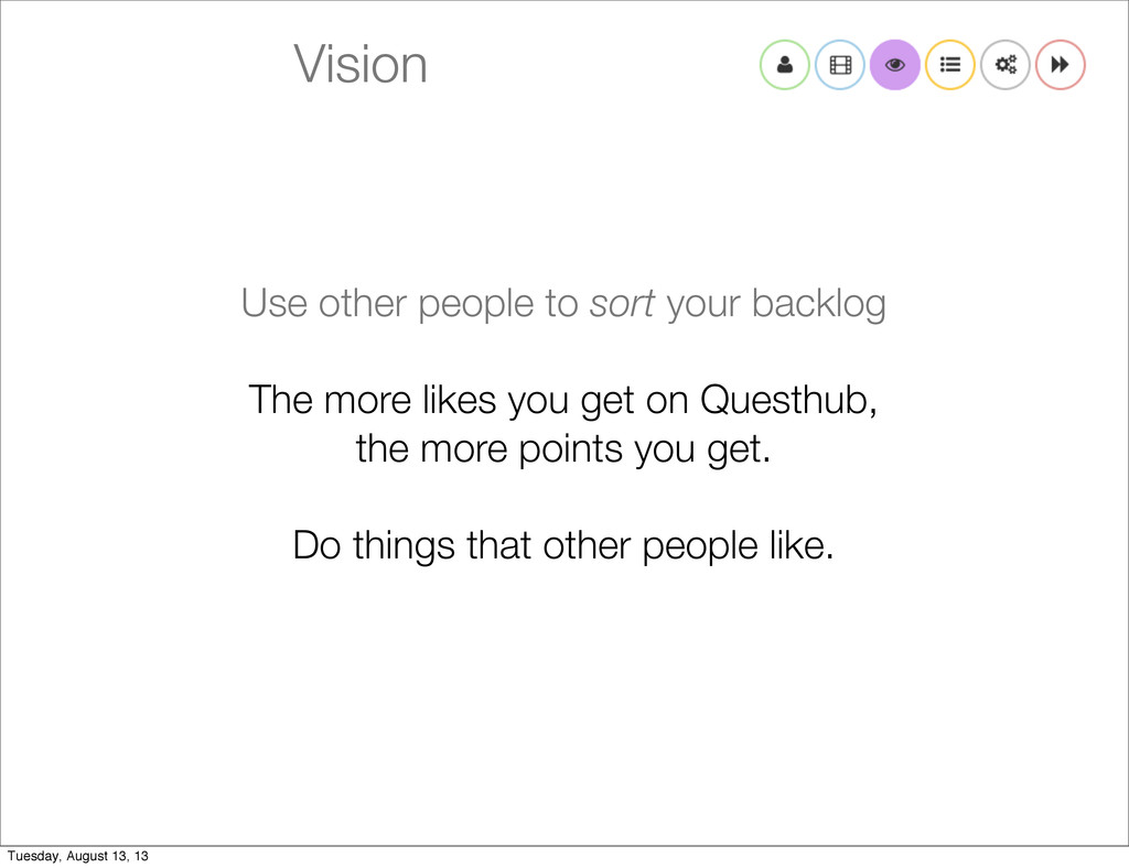 Vision Use other people to sort your backlog Th...