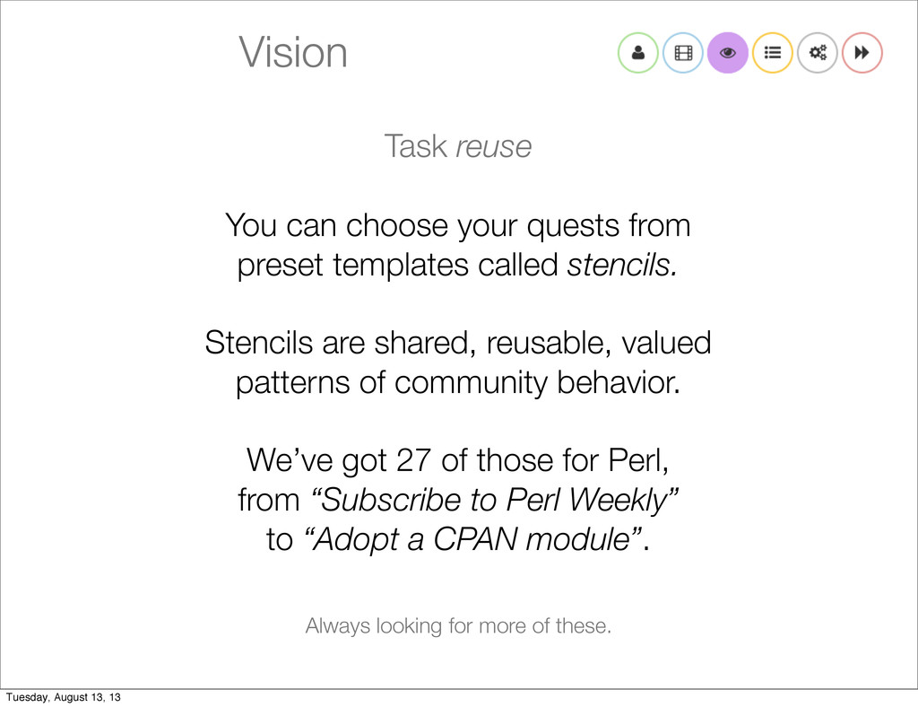 Vision Task reuse You can choose your quests fr...