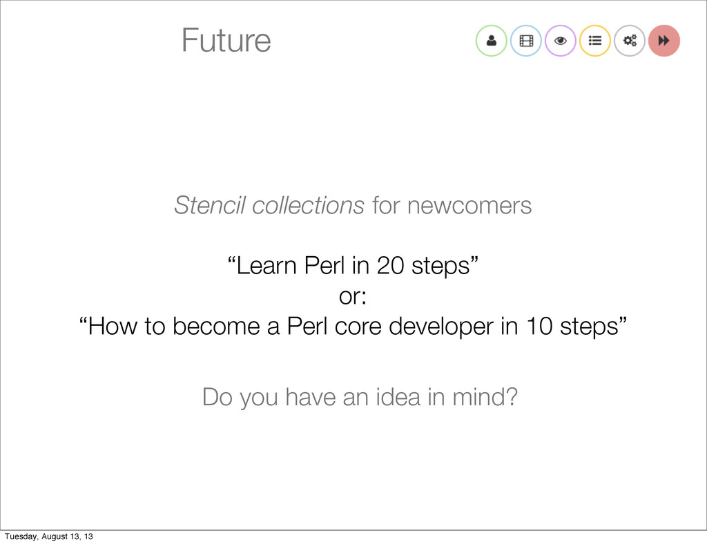 "Future Stencil collections for newcomers ""Learn..."