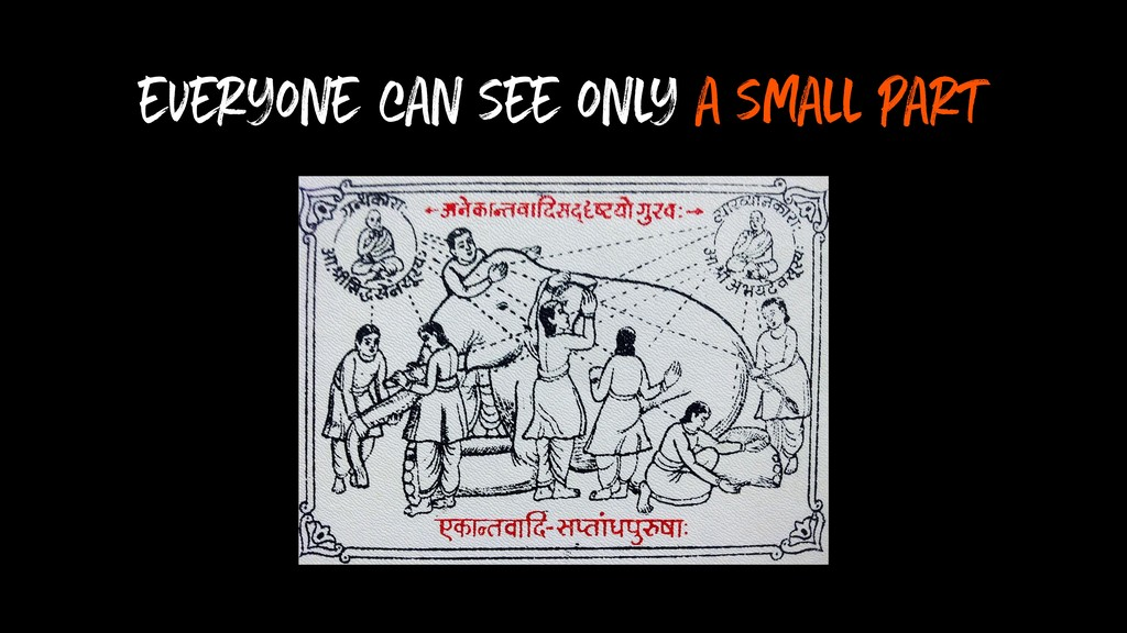 everyone can see only a small part