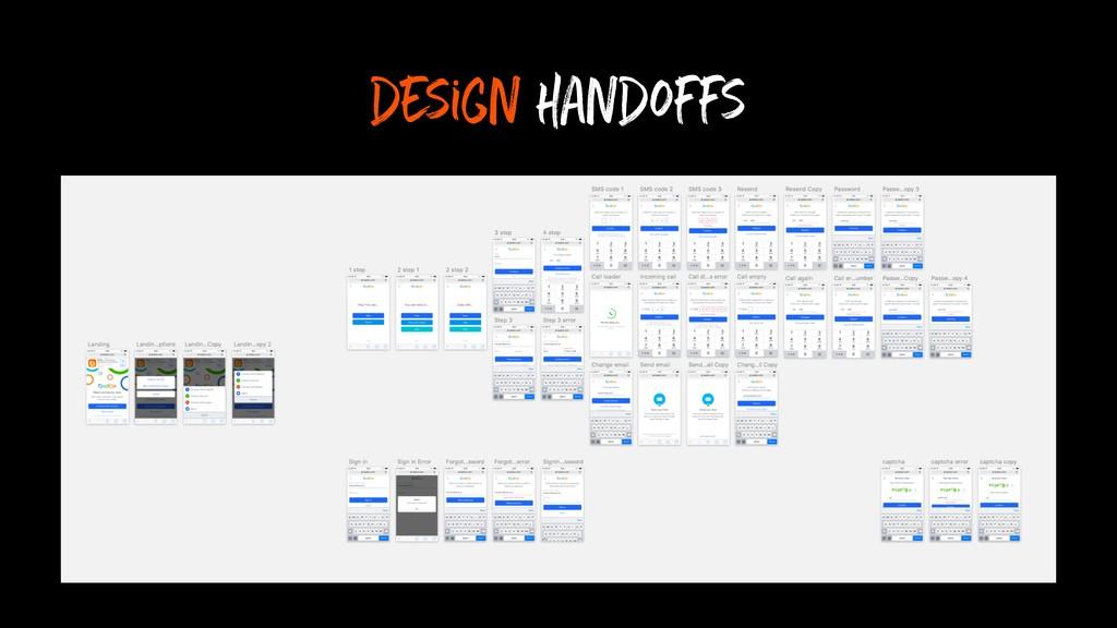 design handoffs