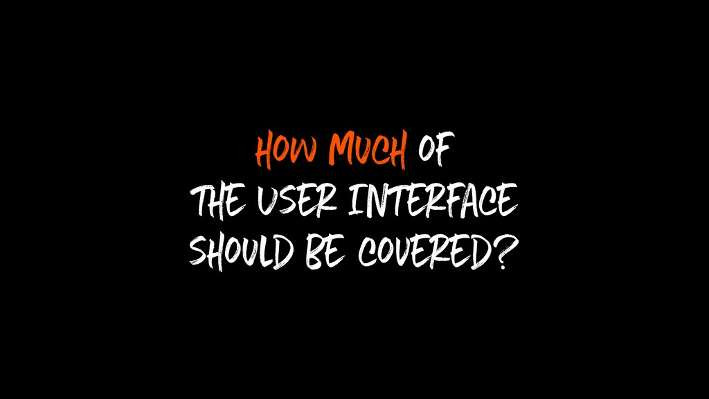 how much of