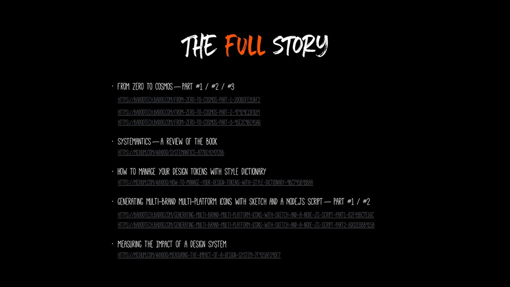 The full story • From zero to Cosmos—Part #1 ...