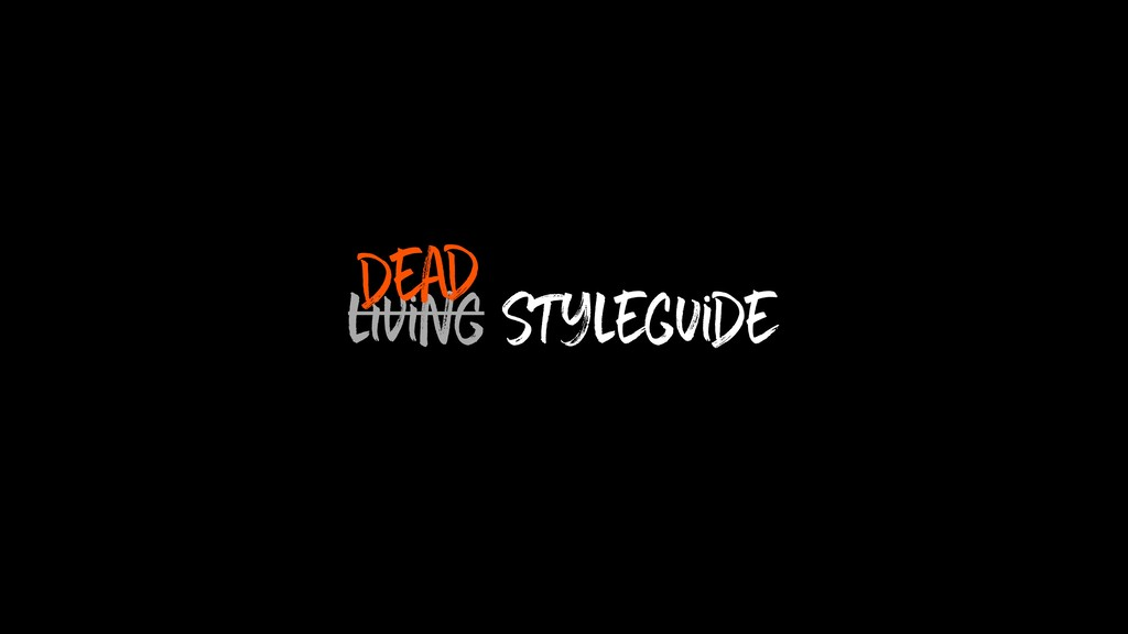 living Styleguide dead