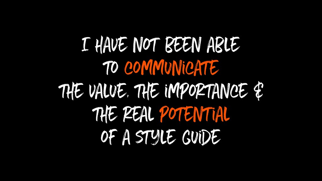 I have not been able