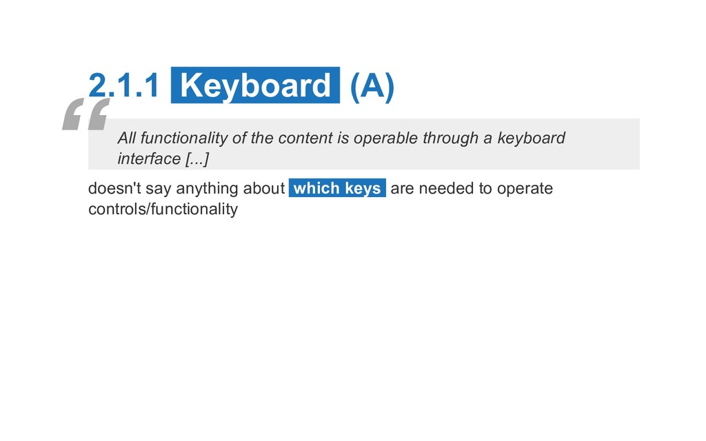 2.1.1 Keyboard (A) All functionality of the con...