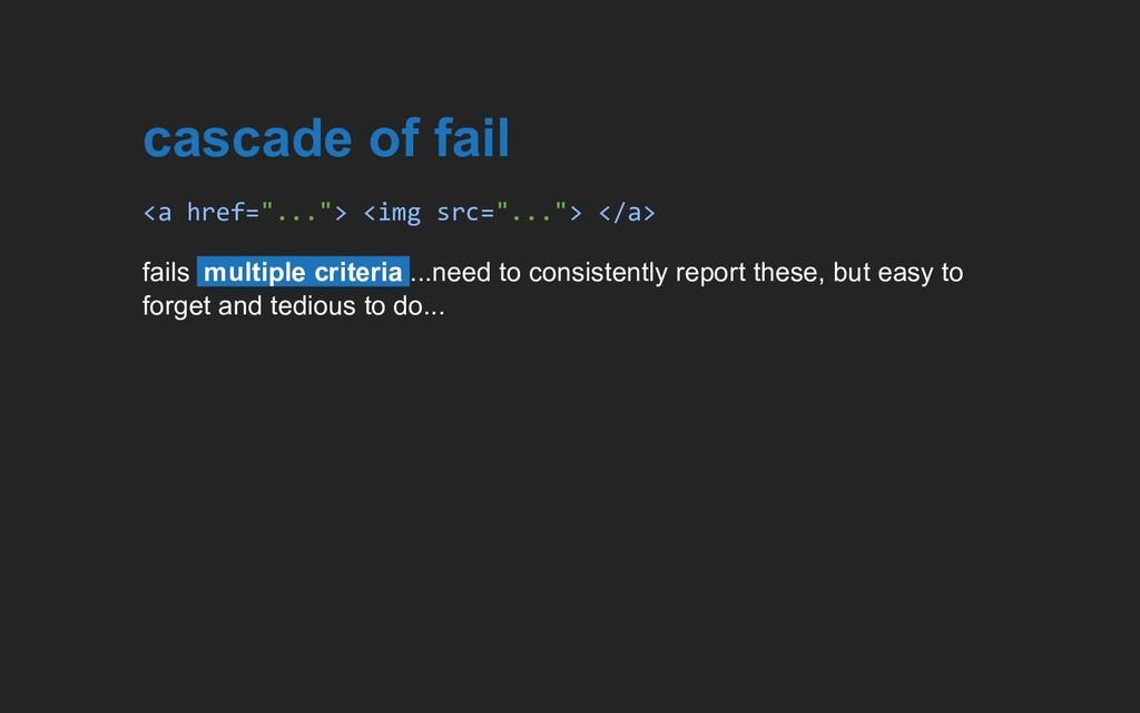 "cascade of fail <a href=""...""> <img src=""...""> ..."