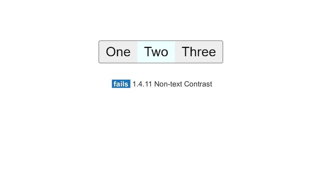 fails 1.4.11 Non-text Contrast
