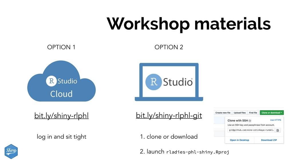 Workshop materials Cloud OPTION 1 bit.ly/shiny-...