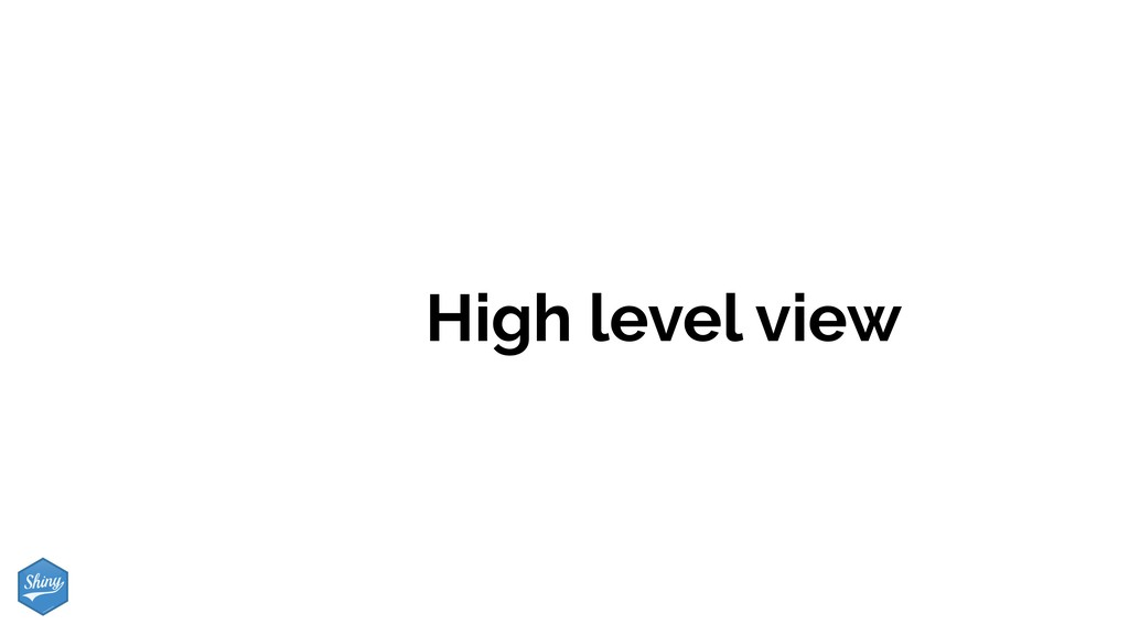 High level view