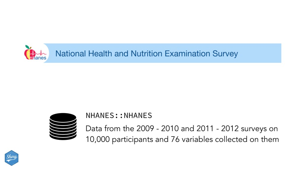 NHANES::NHANES Data from the 2009 - 2010 and 20...