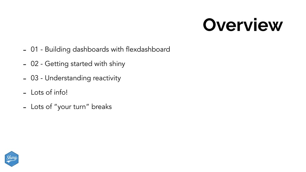 Overview - 01 - Building dashboards with flexda...