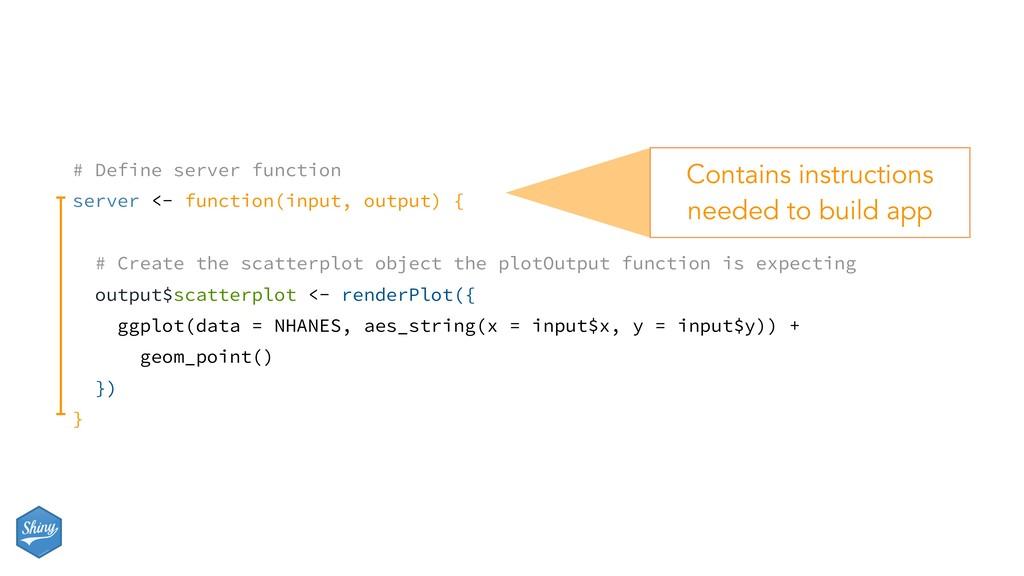 # Define server function server <- function(inp...