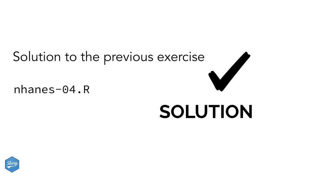 SOLUTION Solution to the previous exercise nhan...