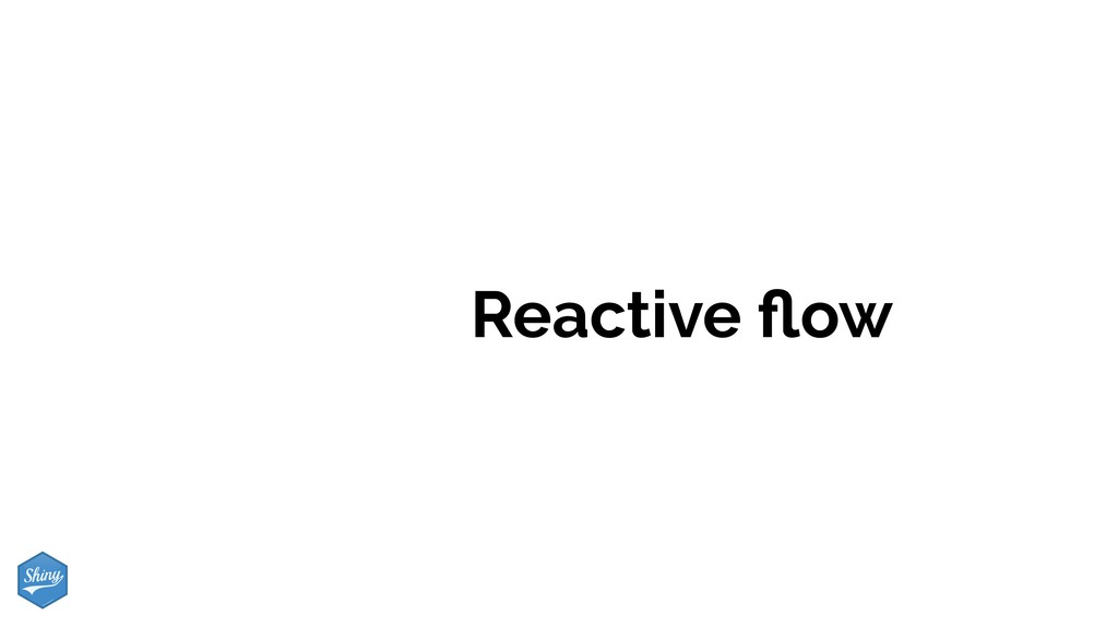 Reactive flow