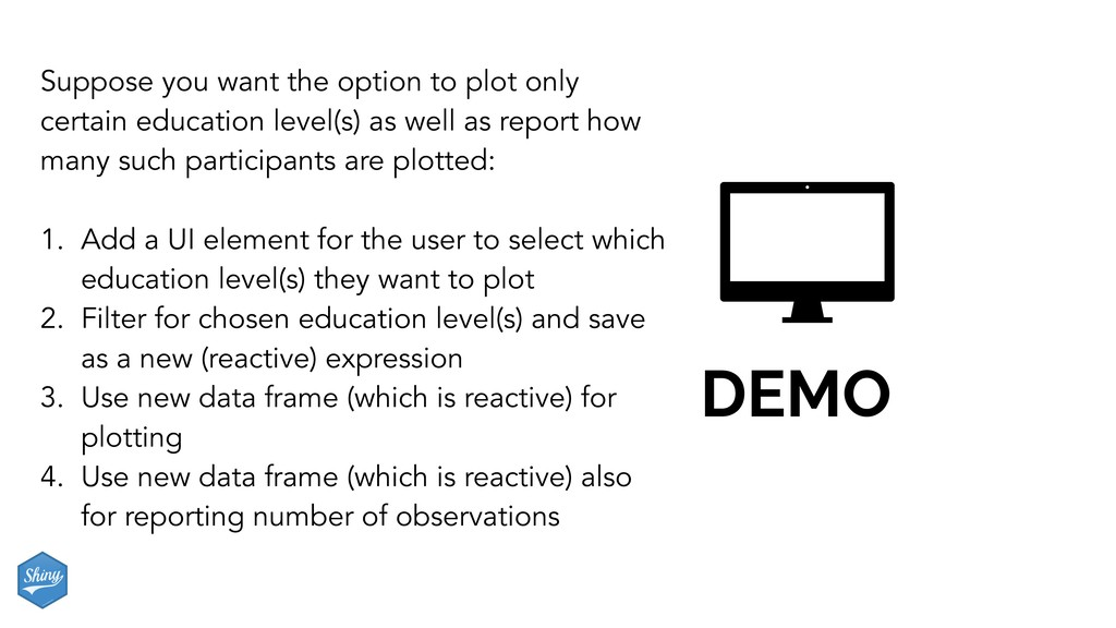 DEMO Suppose you want the option to plot only c...