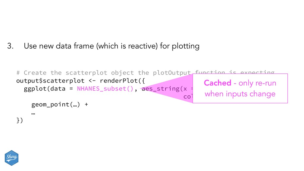 3. Use new data frame (which is reactive) for p...