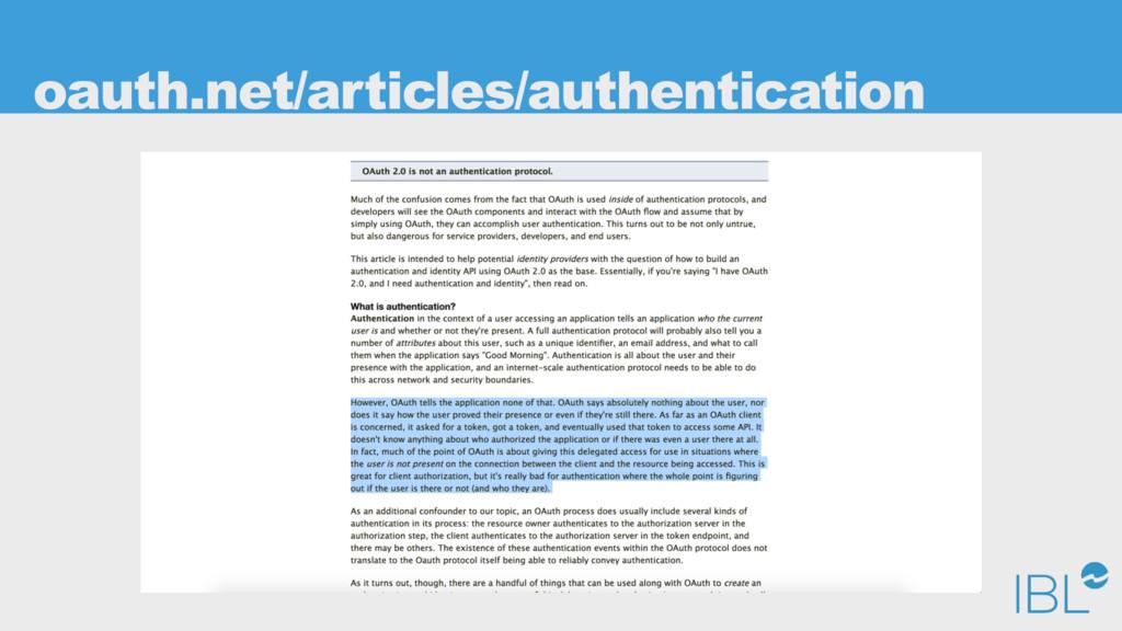 oauth.net/articles/authentication