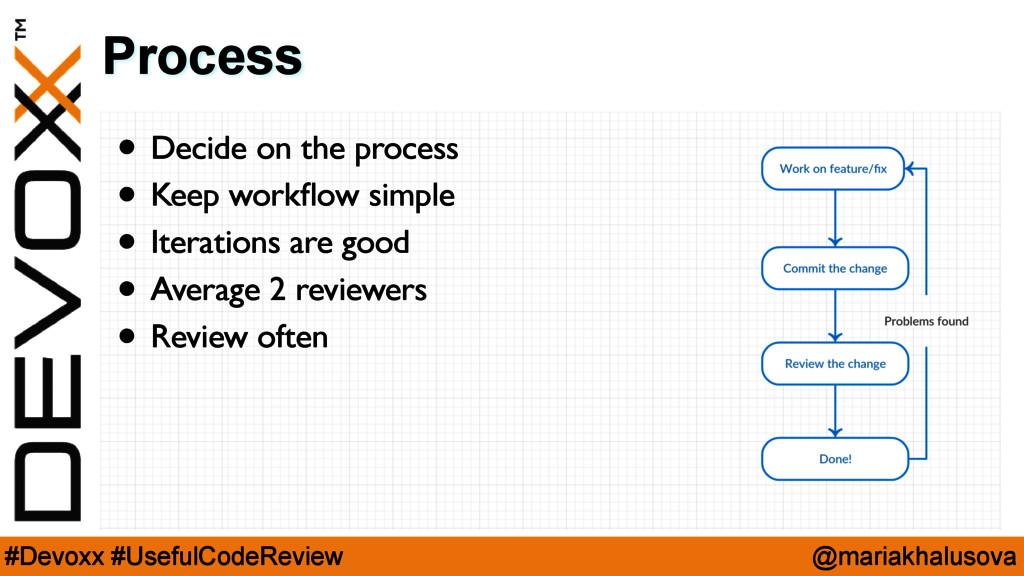@mariakhalusova #Devoxx #UsefulCodeReview Proce...