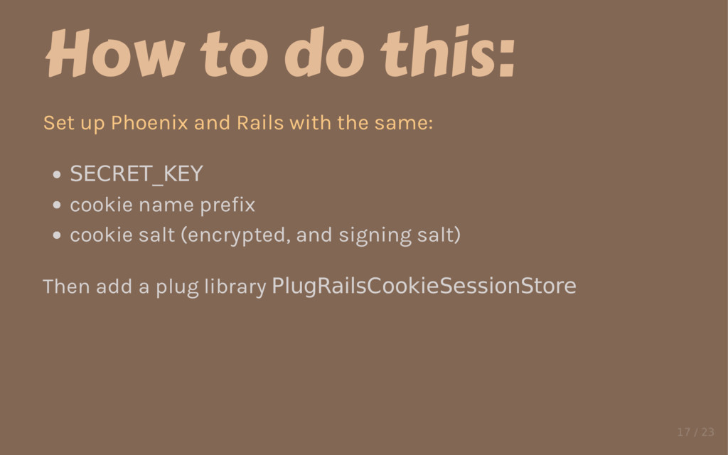 How to do this: Set up Phoenix and Rails with t...