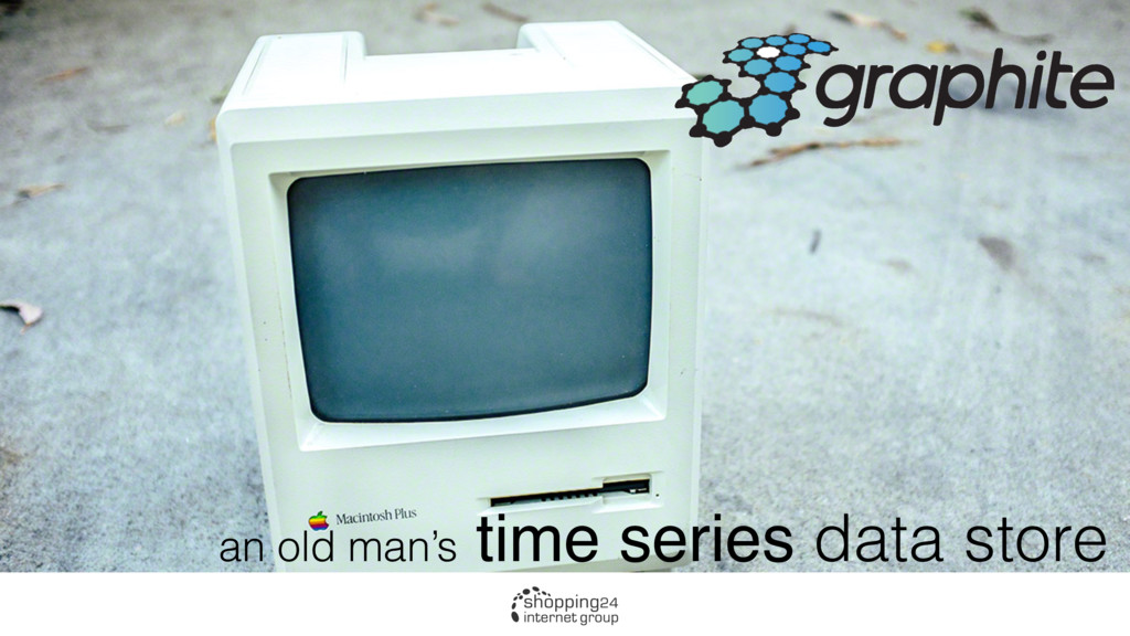 an old man's time series data store