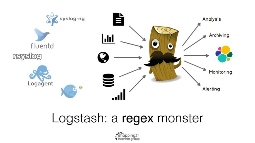 Logstash: a regex monster