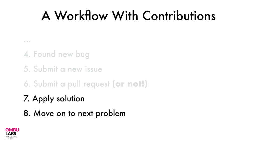 48 … A Workflow With Contributions 4. Found new ...