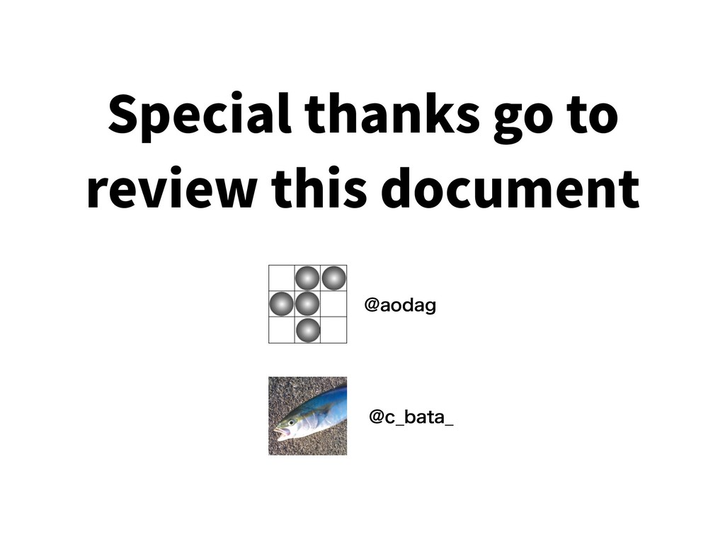 Special thanks go to review this document !BPEB...