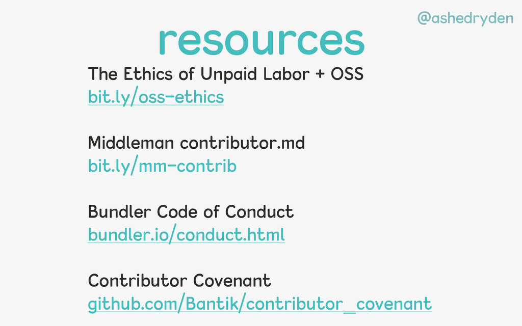 @ashedryden resources The Ethics of Unpaid Labo...