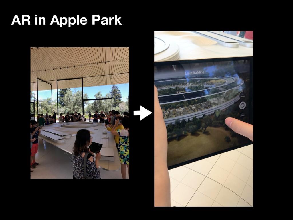 AR in Apple Park