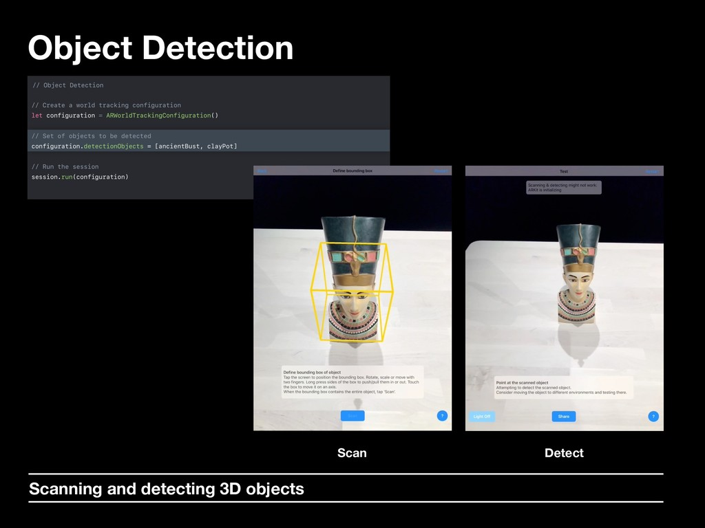Object Detection Scan Detect Scanning and detec...