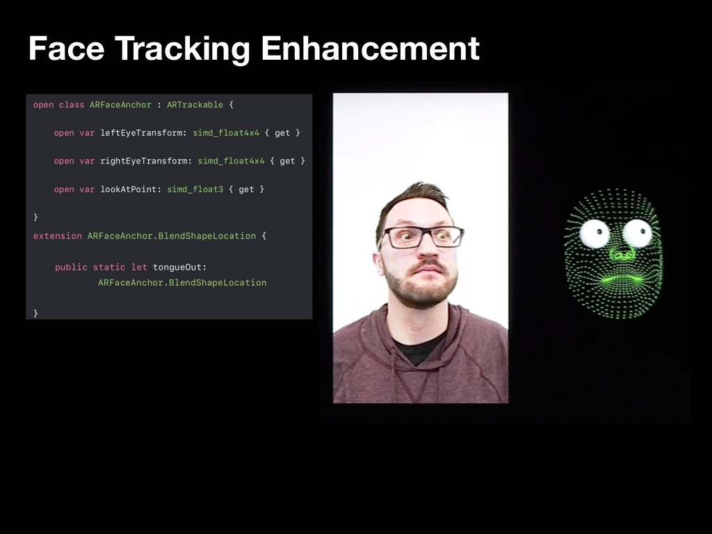 Face Tracking Enhancement