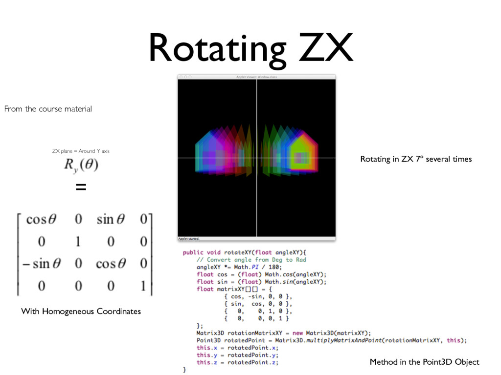 Rotating ZX From the course material = With Hom...