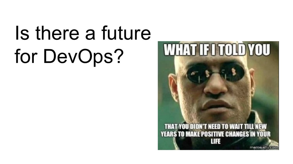 Is there a future for DevOps?