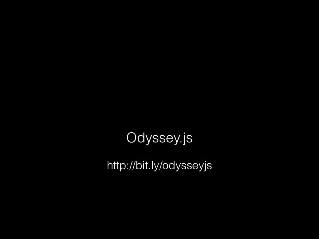 Odyssey.js http://bit.ly/odysseyjs