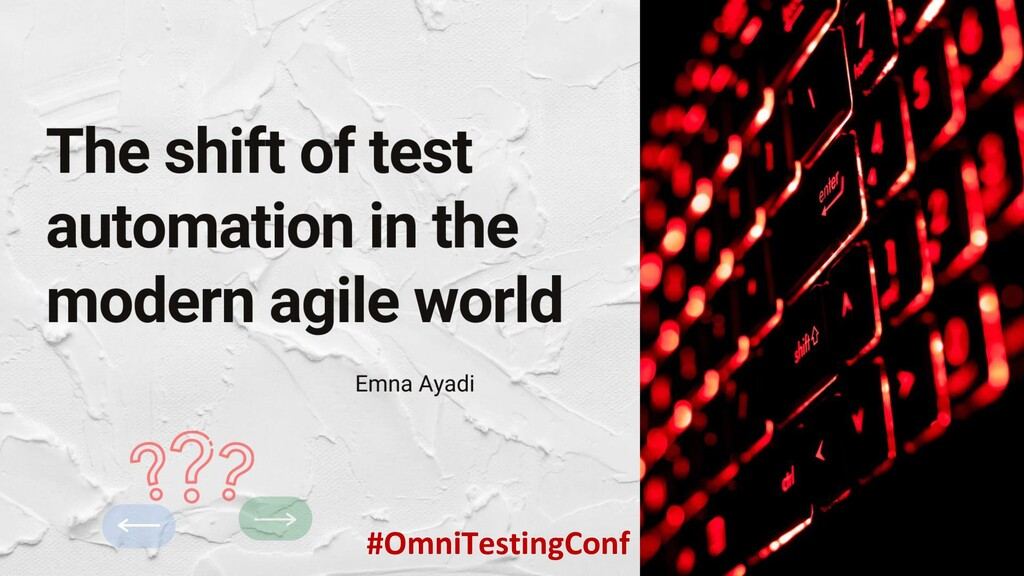 #OmniTestingConf