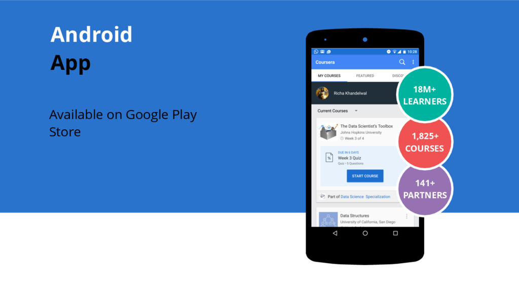 Available on Google Play Store Place your scree...