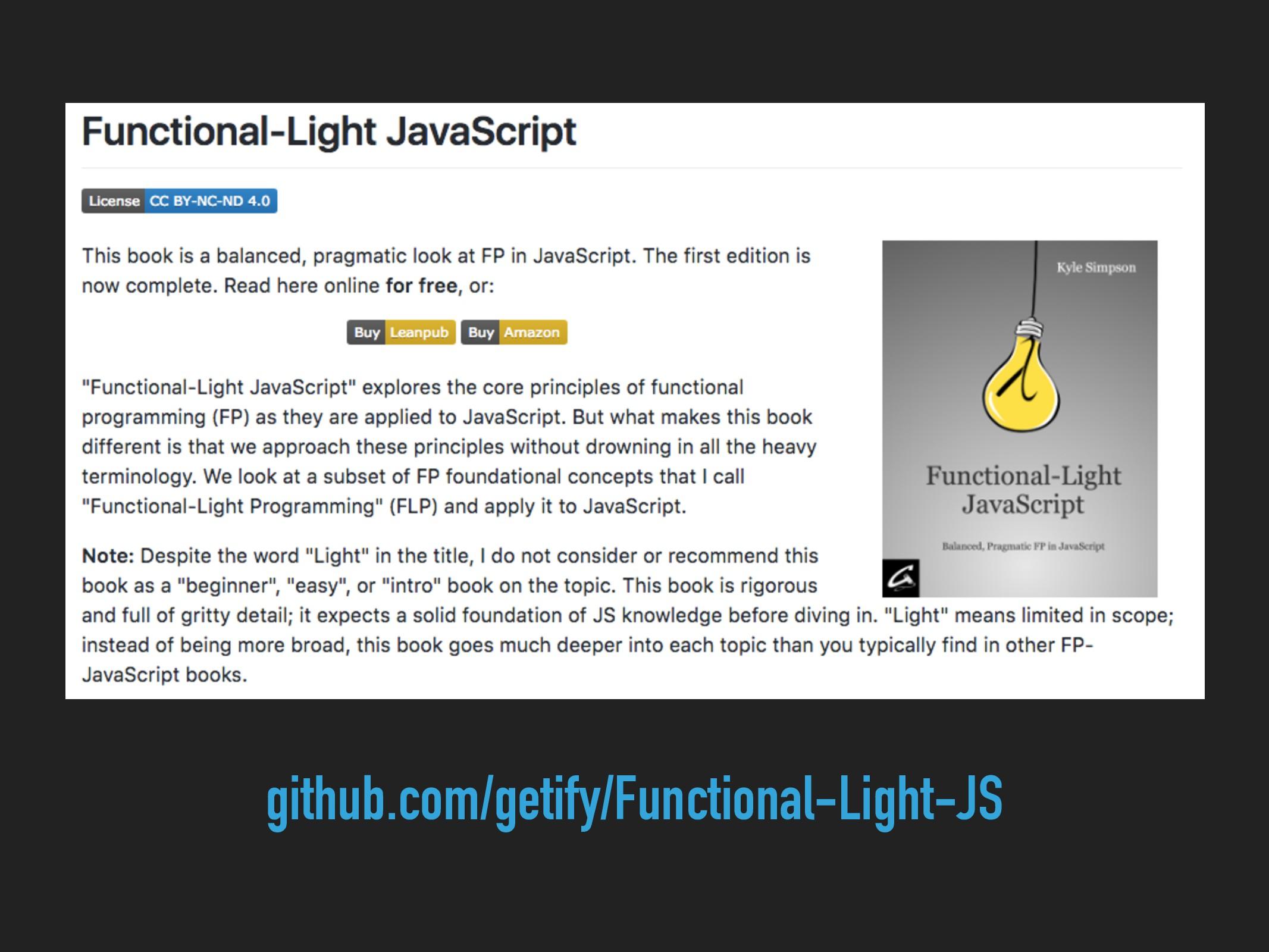 github.com/getify/Functional-Light-JS