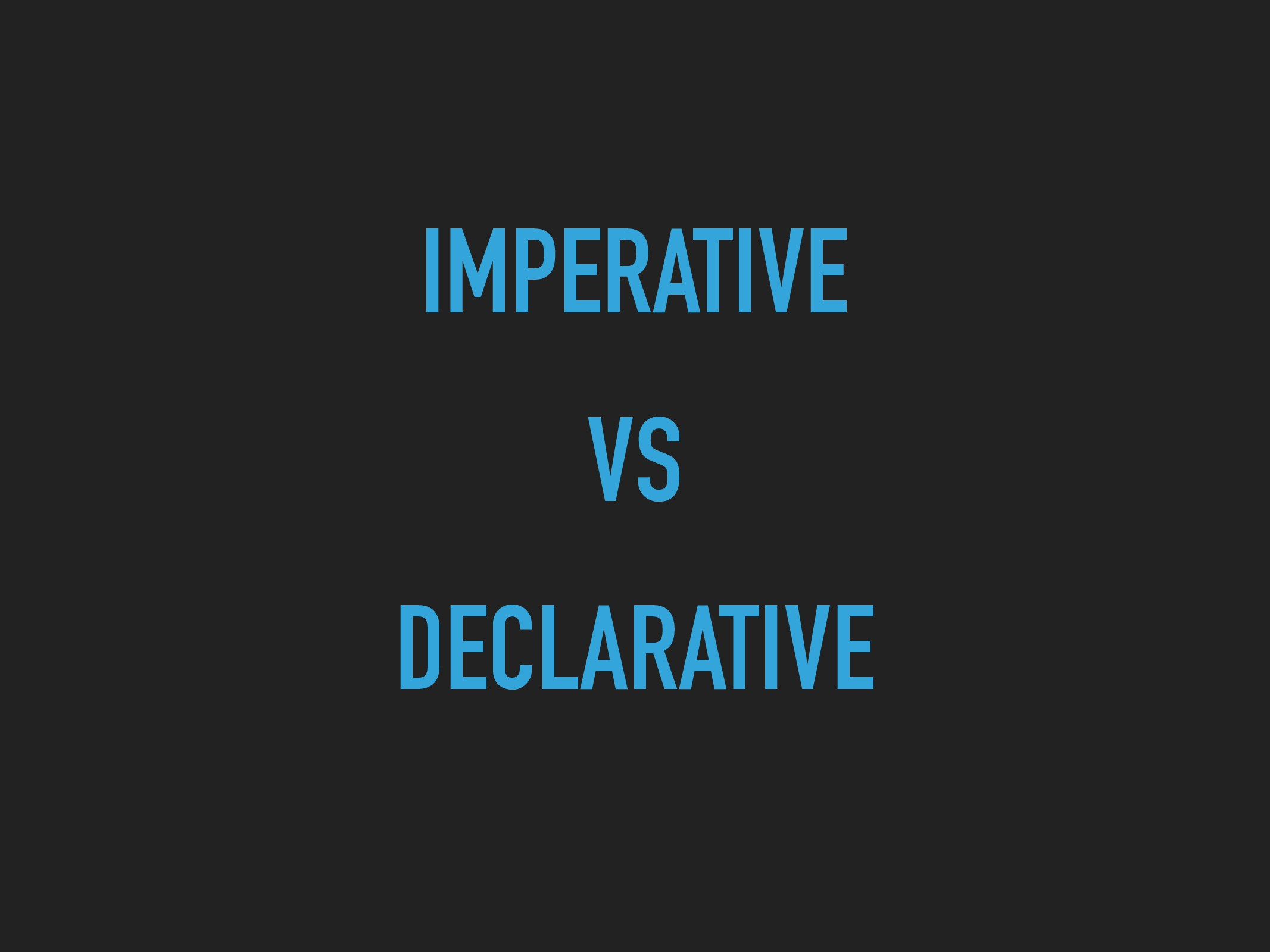 IMPERATIVE