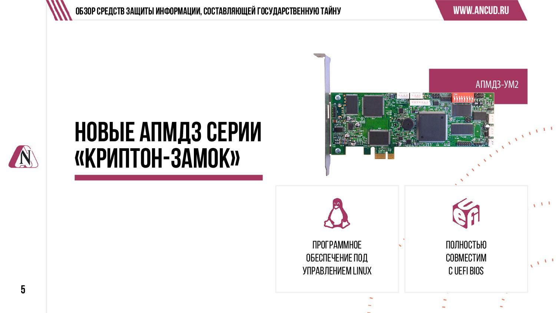 АПМДЗ-УМ2 5 Обзор средств защиты информации, со...