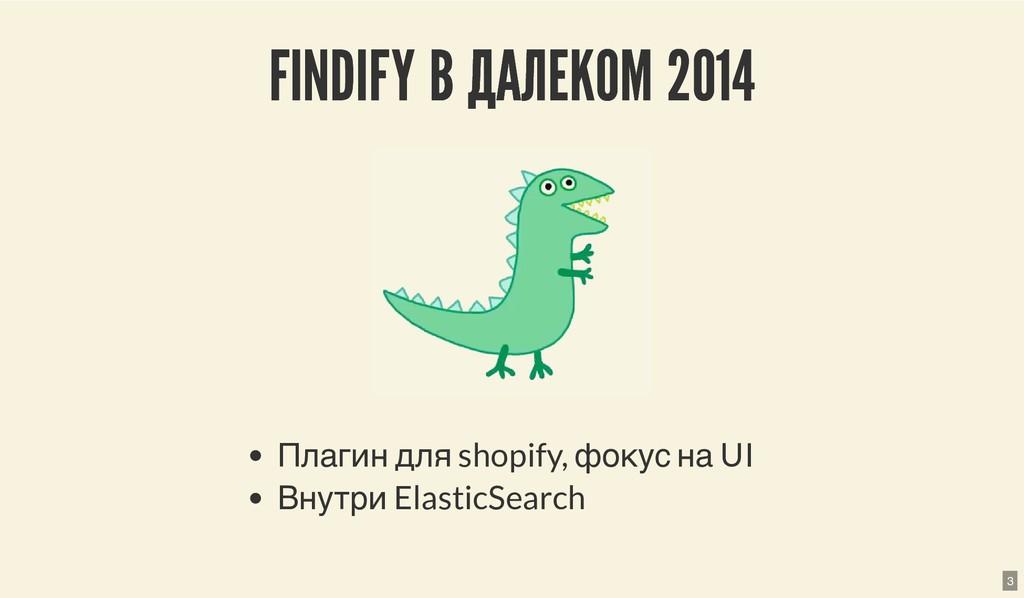 FINDIFY В ДАЛЕКОМ 2014 FINDIFY В ДАЛЕКОМ 2014 П...