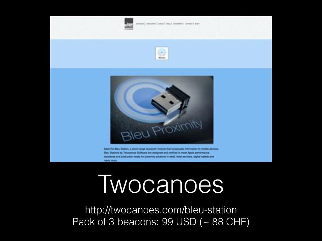 Twocanoes http://twocanoes.com/bleu-station Pac...