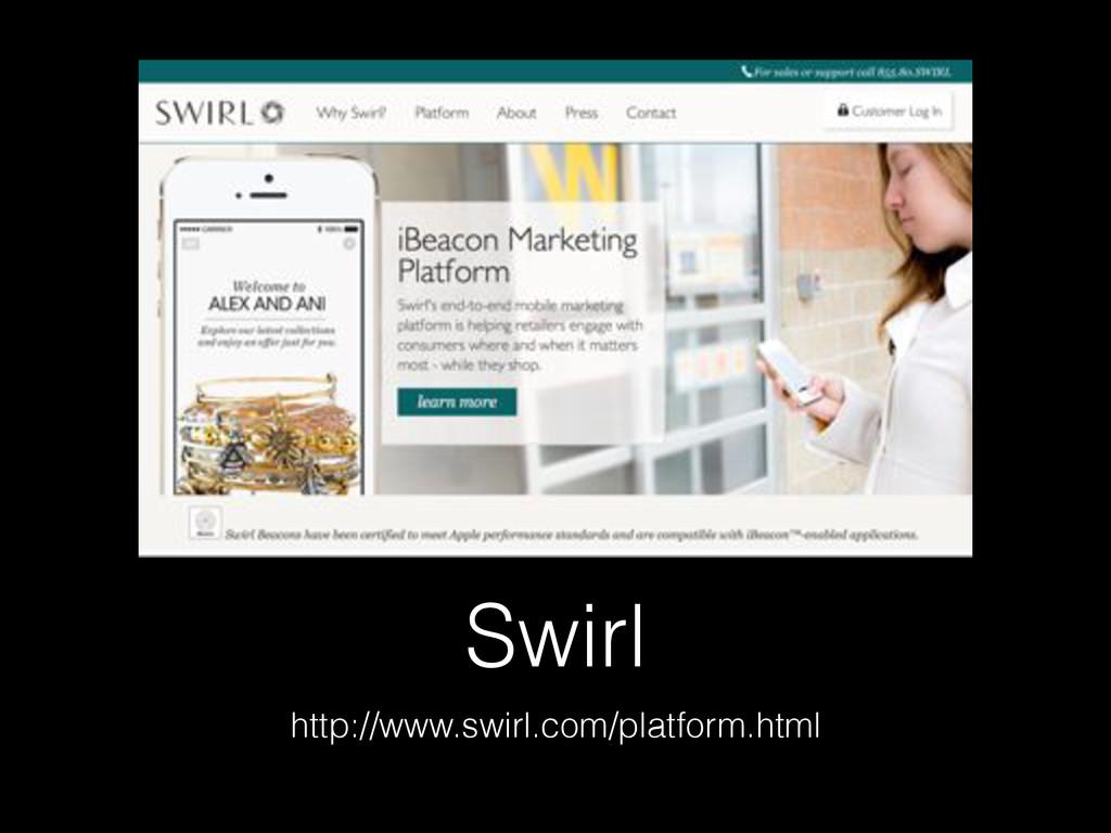 Swirl http://www.swirl.com/platform.html