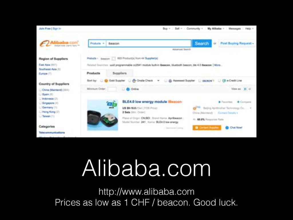 Alibaba.com http://www.alibaba.com Prices as lo...