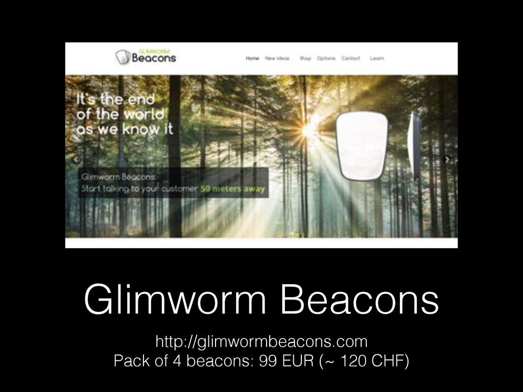 Glimworm Beacons http://glimwormbeacons.com Pac...