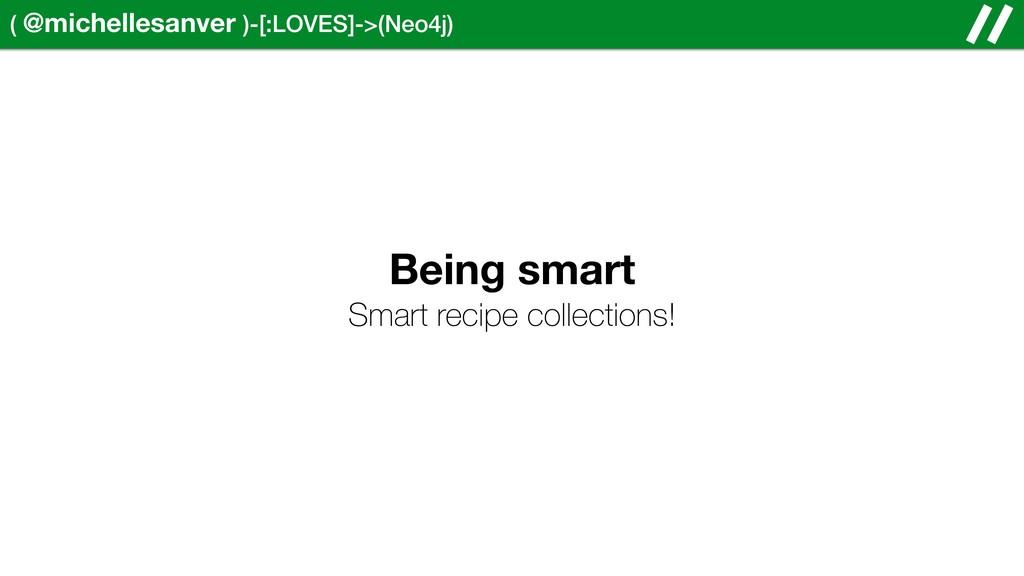( @michellesanver )-[:LOVES]->(Neo4j) Being sma...
