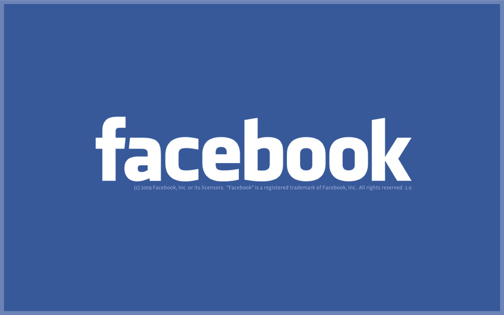 """(c) 2009 Facebook, Inc. or its licensors. """"Face..."""