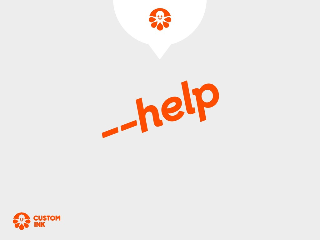 --help