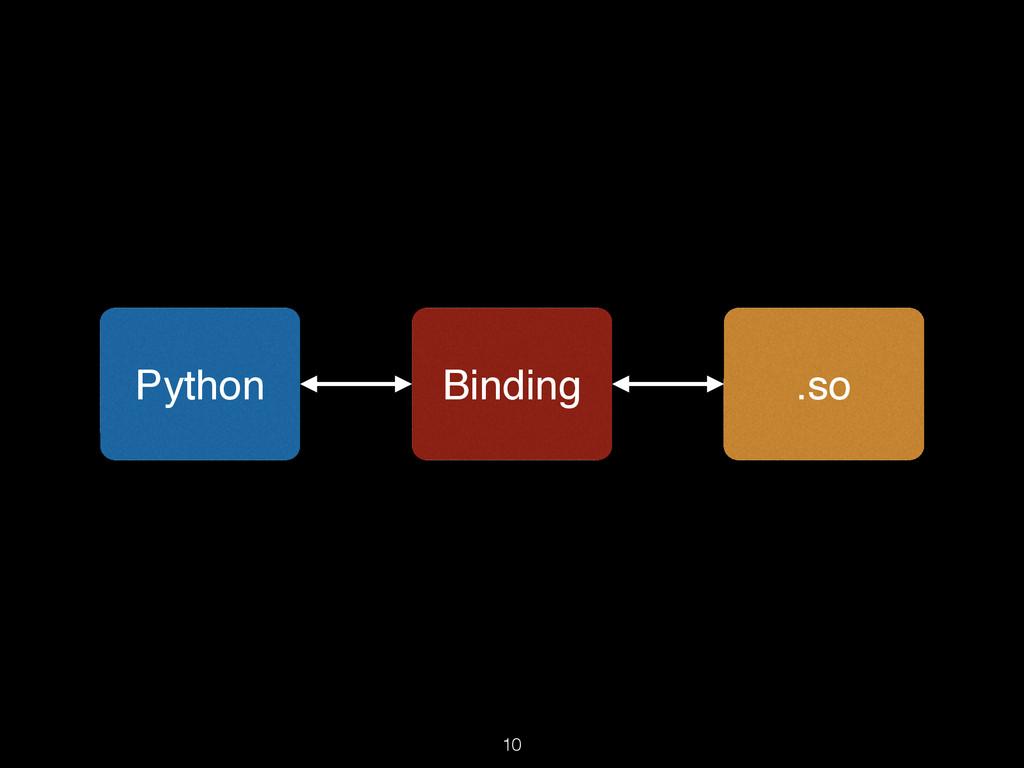 10 Python .so Binding